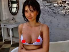 上西怜(NMB48)驚愕の乳首透けショットがこれ。乳輪大きめやねwwwww(画像あり)