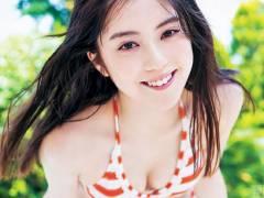 カリスマモデル中野恵那(ちゃんえな)の水着グラビア画像