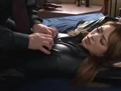 【クリスティーン】敵に捕まり媚薬を投与されての恥辱セックス快楽に負けてしまったキャットスーツ美女捜査官【トニー大木】