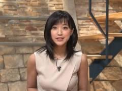 竹内由恵アナの横乳がエロい。