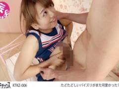 北川りこ チアコス巨乳美少女のたわわなおっぱいをパイズリで堪能したり揉みながらセックスしたり!