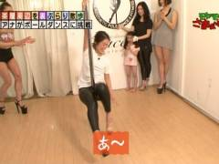 福田典子アナがポールダンスでワレメを刺激