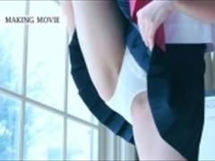 着エロ 可愛いお顔で美巨乳な童顔美少女のイメージビデオ! ! 足をめちゃくちゃ広げたり、手ブラで乳首隠したり! ! IV