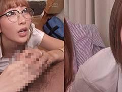 市川まさみさんが人気女優と共演してハーレム逆3P痴女!共演の数だけ痴女がある。。