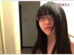 【個人撮影】メガネのセクシーな可愛い美少女!