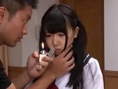 【愛須心亜】狂った兄に催眠術をかけられて父親と中出し近親相姦させられるパイパン女子校生【佐川銀次】