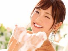 【加美杏奈】神カワ新人ソープ嬢が200%の笑顔と真心こもったプレイでアナタのチンポに全力ご奉仕!!