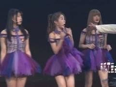 【放送事故】SNH48がライブ中、不審者がメンバーの首を絞めようと乱入、会場騒然!!これはアカンヤツや。。。(GIF、動画あり)