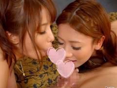 この世の贅沢、美女2人と3P♡【美雪ありす 前田かおり】