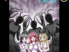 サドルマン大ピンチ!極上魔界美女に追い詰められ触手人間させられる!美少女たちを肉奴隷にしてやるなんて言われて心は揺れるが…。