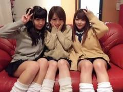 【本山茉莉/並木あゆ/小高里保】 可愛い顔してドスケベな3人の女子校生がM男をイジめまくる!