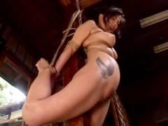 [桐島千沙 M女動画]「愛しい妻を私の前で調教してください!」夫に見られながらマゾな牝犬へと調教される!