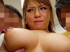 【三島奈津子】 悪ガキたちに弱みを握られた巨乳人妻が性欲処理に堕ちるまで・・・