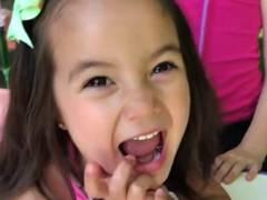 洋ロリyoutuber 何本もケツに注射されて絶叫の幼女。