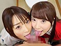 無料エロ動画 初美りんちゃんと八乃つばさちゃんが資産家と中出しSEXで金と精子を大放出!
