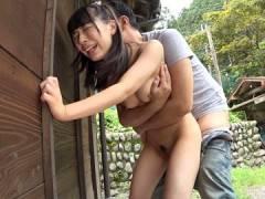 【JC】「おじさんの気持ちいいよ♡」田舎に住む純朴な童顔ロリJKが中年チンポに跨りご奉仕SEX!舞園にこ