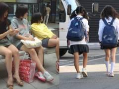 JC盗撮エロ画像26枚「女子高生でなく女子中学生だけが好きなんだよ!」というロリコン向け