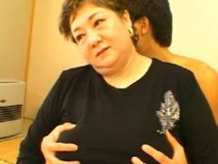 【素人】巨乳ですね~!バスト120の高齢熟女と・・・♪