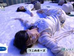 NHK赤木野々花アナのパジャマヨガ運動が何かエロい