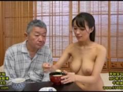 [真木今日子]全裸で訪問介護とか興奮してお爺さん死んじゃうって!