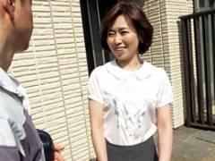 52歳・五十路の親戚のおばさんとダブルベッドで中出し近親相姦! 高坂紀子