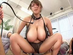 Hitomi 爆乳インストラクターをジム会員が性処理ペットにする調教SEX!