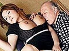 浅田ちち 巨乳妻が義父の勃起ちんこを介護!義父と夫と3PSEXでマンコ濡れ濡れ絶頂