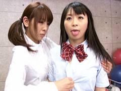 羽月希 あずみ恋 時間を止めてレズプレイ!肉食女教師がペニバンで制服美少女にやりたい放題
