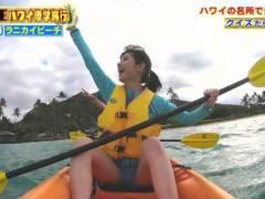 東大王鈴木光が短パンでM字開脚してマンコの形がくっきりキャプ!