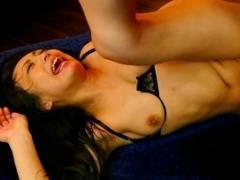 【神納花】 蛇のよう舌を持つお姉さんの汗だく濃密セックス 【tube8】