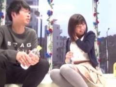 【企画】一線は・・超えまくり~!!!!カレシごめん!!スケスケ車でガッチリSEX!!