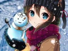 【二次・ZIP】冬なので雪だるまと美少女の画像まとめ