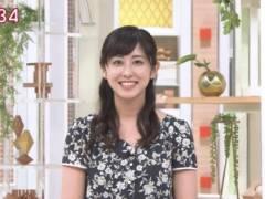 斎藤ちはるアナの前かがみ胸チラおっぱいキャプ!テレビ朝日女子アナ