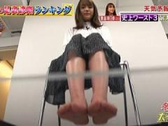 貴島明日香さんのボロボロな足ウラ。