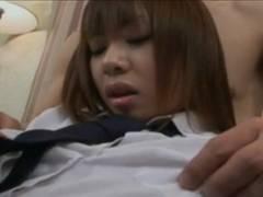 【無修正】【女子校生】カリ巨チンコを挿れられヨガりまくる美巨乳GAL女子校生12【女子校生】