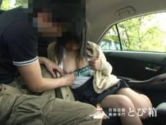 夏は車の中で女子校生にちんこしゃぶらす!!精子飲ましたい!!