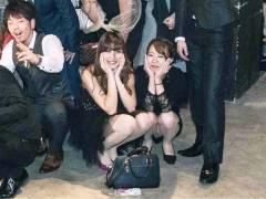 【*ち●ぴく*】パーティーに参加したのはパンチラ女子が多いからなのさwww【パーティーパンチラ】
