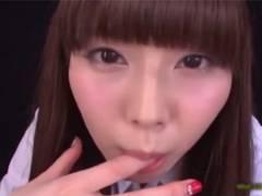 [彩城ゆりな]超絶フェラテクで射精へ導きお口でクチュクチュザーメンを泡立たせ遊ぶ美少女JKがエロい!