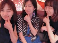 【画像】島崎遥香 永尾まりや 竹内美宥の9期の3人が久しぶりに揃う!