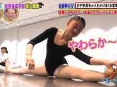 宝塚養成学校、美少女たちがレオタード姿で柔軟体操していて素晴らしすぎた件!!