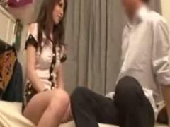 【宮坂レイア】巨乳GALが素人童貞宅で優しく筆おろし。騎乗位で暴れた後は手コキでフィニッシュ【セックス】