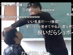 【衝撃】学校で陰キャを殴ってたヤンキー、まさかのワンパンKOされるwww(動画あり)