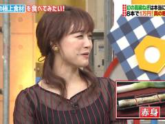 新井恵理那さん、キャミがスケスケ。