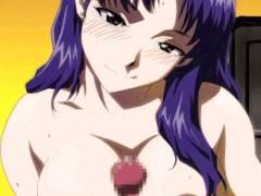 [エロアニメ] 葛城ミサトのコスプレをしたレイヤーさんとエッチしちゃおう! (エヴァンゲリオン)