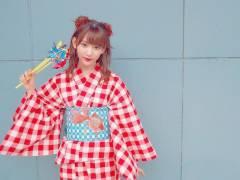 【画像】さくらたんこと宮脇咲良ちゃんの最新浴衣姿が可愛すぎる件wwwwwwww