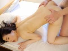 井上綾子 美乳スレンダー人妻が寝取られSEX美尻に激しく腰を打ち付けマンコ犯される
