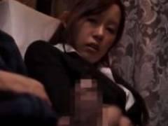 【アヘお嬢さん】媚薬ごっくんちょで自家オナ発電をやらかしてるトコにチムポ見せつけの確信犯@バスの車内