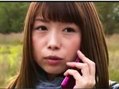【おっぱい】ヘンリー塚本・自然の中を自転車で走るお姉さん!車で来たおっさんと待ち合わせてエッチしまくりです!