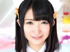 【顔射】現役アイドルが童顔で精子を受け止めるザーメン修行!