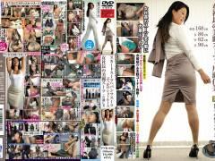 片瀬仁美「スカートスーツ vs. パンツスーツ ぶっかけショールーム 女社長の美麗スーツ・片瀬仁美」